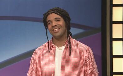 Podarený večer na SNL patril Drakeovi. Ten zdissoval celé obsadenie a zaspieval o memes