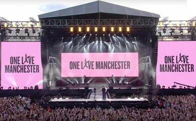 Pozri si tie najlepšie vystúpenia z benefičného koncertu v Manchestri. Vyzbieralo sa vyše 2,7 milióna eur