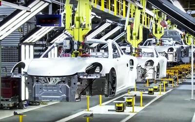 Podívej se na video, které ti ve 120 sekundách ukáže, jak se vyrábí zbrusu nové Porsche 911!