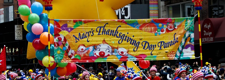 Podívejte se, jak probíhal slavnostní průvod na Den díkuvzdání v New Yorku. Prišel i Pikaču nebo SpongeBob