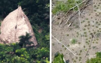 Podívejte se na první záběry izolovaného brazilského kmene