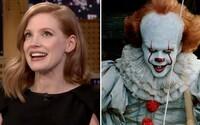 Podľa Jessicy Chastain uvidíme v It 2 najkrvavejšiu scénu v histórii hororu