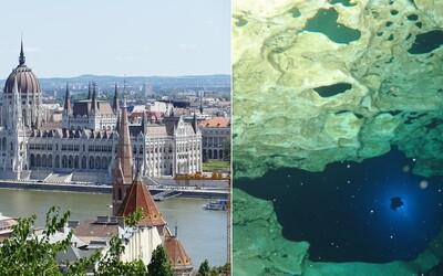 Podvodné tunely 30 metrov pod Budapešťou, skrytý svet v podzemí