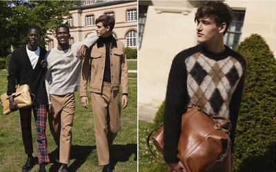 Podzimní kolekce H&M Studio se nese ve snobském stylu elitních soukromých univerzit
