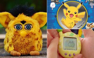 Pogy, Tamagoči, postavičky z Kinder vajec i přílohy z Kačera Donalda. Vzpomínáme na oblíbené hračky z 90. let