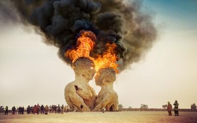 Pohádkový svět plný svobody. Podívej se na fotky z Burning Man 2014
