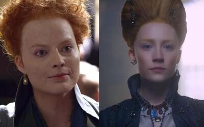 Pohľadná Saoirse Ronan a Margot Robbie zmenená k nepoznaniu rozpútajú v historickej dráme vojnu o trón