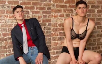 Pohlavně neutrální model píše historii. Rain je prvním mužem i ženou zároveň, který se objevil na obálce magazínu Diva
