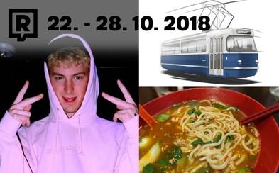 POJĎ VEN: Tento týden bude v Praze Brennan Savage, Desingblok, jízda v tramvaji T3 Coupé, festival polévek nebo veganské grilování