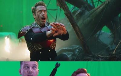 Pokazené zábery z Endgame: Thor miluje svoj obrí pupok a ženské hrdinky si užívajú spoločnú girl power scénu