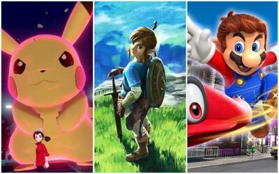 Pokémon predal za 45 dní viac ako 16 miliónov kópií hier. Každý tretí majiteľ Switchu vlastní Super Maria, Zeldu a Pokémona.