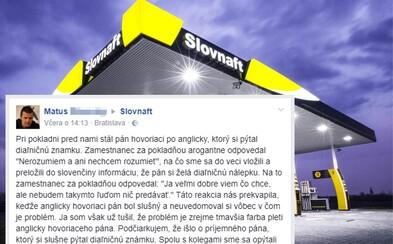 Pokladník v slovenskej benzínke odmietol obslúžiť zákazníka tmavšej pleti. Rasistický názor nezmenil, ani keď do diskusie vstúpili Slováci