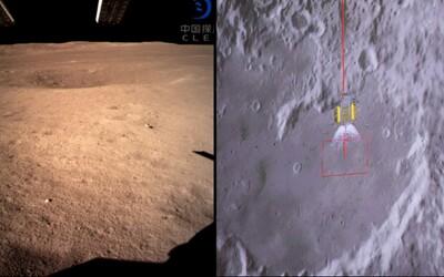 Pokochaj sa fotografiami z prvého pristátia na odvrátenej strane Mesiaca