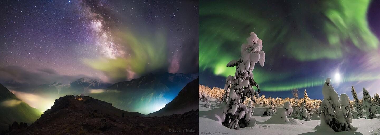 Pokochej se vítěznými záběry soutěže o nejhezčí fotografii oblohy. Nádherné, že?
