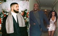 Pokračovanie beefu Kanye West vs. Drake: Viac ochrankárov a zapojenie Kim Kardashian a Ariany Grande