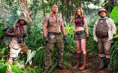 Pokračování Jumanji s Dwaynem Johnsonem nás tentokrát zavede do exotického světa videoher
