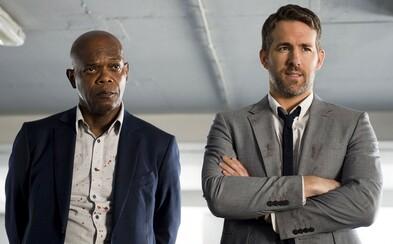 Pokračování komedie Hitman's Bodyguard dostává první trailer. Ryan Reynolds v něm pomáhá Salmě Hayek s chladnokrevným zabíjením