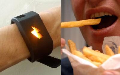 Pokud jíš příliš, dostaneš elektrický šok. Na Amazonu najdeš náramek, který chce bojovat proti přibírání