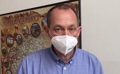 Pokud vláda nevyhlásí nouzový stav, vyhlásím stav nebezpečí, tvrdí hejtman Karlovarského kraje Kulhánek