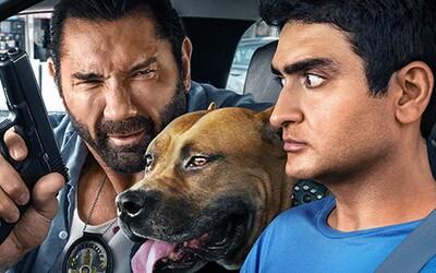 Policajt Dave Bautista a taxikár Kumail Nanjiani lovia teroristu. Sleduj zábavný trailer akčnej komédie Stuber