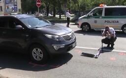 Policajt v civile zrazil 12-ročného chlapca na kolobežke. Z Michaloviec ho previezol vrtuľník