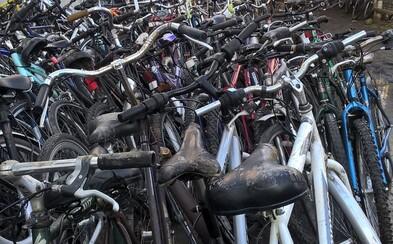 Policisté chytili muže kradoucího kolo. Když v jeho zahradě objevili dalších 164 kusů, nemohli uvěřit vlastním očím
