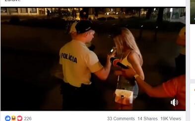 Policajti v Bratislave kontrolovali opitú mládež. Na Obchodnej a pod hradom museli riešiť aj výtržníctvo či ublíženie na zdraví