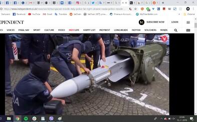 Policajti v Taliansku zadržali u pravicových extrémistov funkčnú raketu