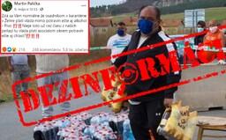 Polícia upozorňuje na ďalší hoax, ktorí obviňuje Rómov, že dostali alkohol od štátu. Nie je to pravda