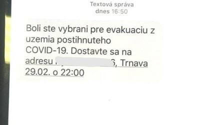 Polícia varuje pred falošnými SMS správami o evakuácii