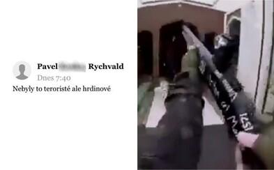 Policie si došlápne na Čechy schvalující včerejší teroristické útoky. Teď sbírá důkazy