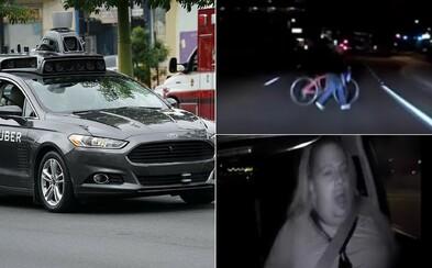 Policie zveřejnila záběry ze smrtelného nárazu autonomního Uber vozidla. Nehodě by prý nezabránil ani člověk