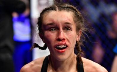 Polská UFC bojovnice, jejíž obličej při posledním zápase otekl k nepoznání, se zotavila