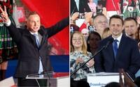 Poľsko si cez víkend volilo prezidenta. Do druhého kola postúpil konzervatívec Duda a liberál Trzaskowski
