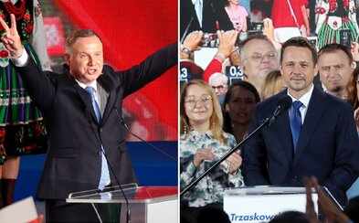 Polsko si přes víkend volilo prezidenta. Do druhého kola postoupili konzervativec Duda a liberál Trzaskowski