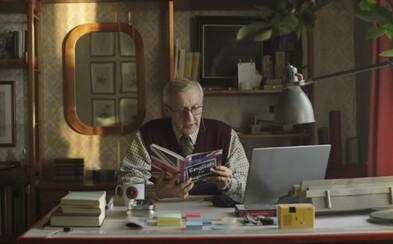 Polský dědeček se učí anglicky v nové vánoční reklamě