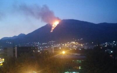Poľský turista chcel oznámiť svoju pozíciu, namiesto toho podpálil celý les