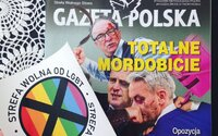 """Poľský týždenník vydal homofóbne samolepky s nápisom """"zóna bez LGBT"""". Najväčší miestny distribútor odmietol časopis predávať"""
