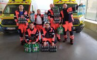 Pomohli desiatkam tisíc Slovákov, rozdali viac ako 200-tisíc fliaš pitného režimu