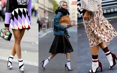 Ponožky neplnia len praktickú funkciu, ale aj estetickú. Sú plnohodnotným módnym doplnkom, ktorý ti vytvorí ikonický look