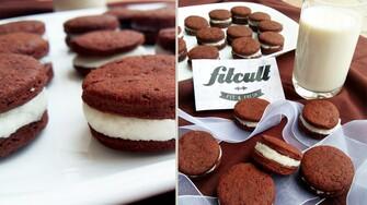Populární a chutné Oreo sušenky na zdravý způsob (Recept)