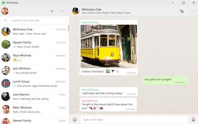 Populárny messenger WhatsApp sprístupnil oficiálnu aplikáciu pre Windows aj Mac