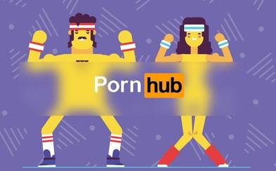 Pornhub bojuje proti obezitě. S jeho novinkou BangFit zhubnete nadbytečná kila a i tak se zabavíte