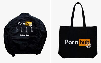 Pornhub chce prorazit i v módním průmyslu. Kousky z jeho nové kolekce si zamiluje nejeden gurmán