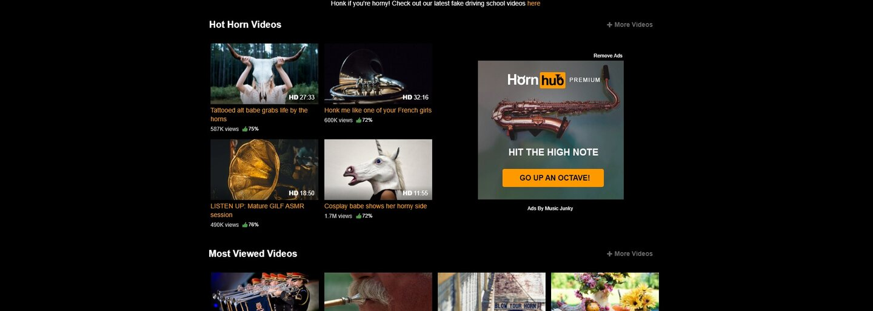 PornHub opäť na 1. apríla zabodoval žartíkom. Svoju stránku premenil pomocou slovnej hračky na portál plný trúb a rohov