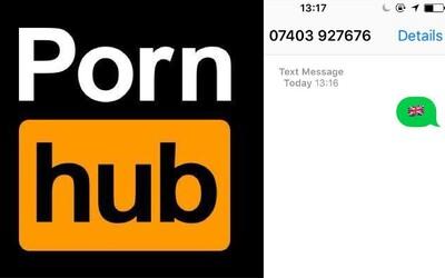 Pornhub opět inovuje. Stačí odeslat SMS s emoji a za pár vteřin přijde odkaz na video podle chuti