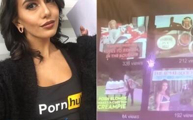 Pornhub si na Dannyho svatbu připravil rozlučkové video. Příbuzní si společně prohlédli jeho oblíbená videa i staré fotky