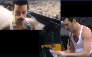 Porovnaj si strhujúci záver Bohemian Rhapsody so skutočnými archívnymi záznamami. Filmári odviedli naozaj špičkovú prácu