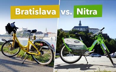 Porovnali sme bratislavský a nitriansky bikesharing