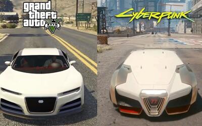 Porovnání GTA V a Cyberpunk 2077: Sedm let stará hra od Rockstar má lepší umělou inteligenci